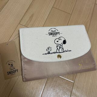 スヌーピー(SNOOPY)のスヌーピー ジャバラマルチケース(母子手帳ケース)