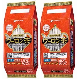 イトウエン(伊藤園)の伊藤園 ウーロン茶 ティーバッグ 54袋 × 2パック 合計108袋(茶)