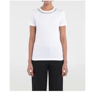 マルタンマルジェラ(Maison Martin Margiela)のマルジェラ ロゴ Tシャツ(Tシャツ(半袖/袖なし))