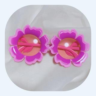 グリモワール(Grimoire)のサングラス レトロポップ  お花(サングラス/メガネ)