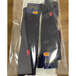ラルフローレン(Ralph Lauren)の新品 ラルフローレン ハイソックス 紺色 (靴下/タイツ)