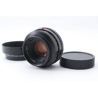 ライカ(LEICA)のLeica SUMMICRON-R 50mm F2 【ドイツ製・純正フード付】(レンズ(単焦点))