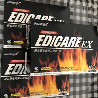 コバヤシセイヤク(小林製薬)の新品未開封 小林製薬エディケアEX 180粒 3箱(ビタミン)