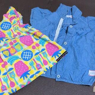 ビッツ(Bit'z)の子供服80  女の子80  ビッツ フタフタ(Tシャツ)
