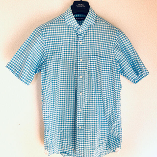 アクアスキュータム(AQUA SCUTUM)の最終値下げ アクアスキュータム メンズ半袖シャツ(シャツ)