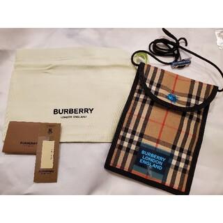 バーバリー(BURBERRY)の新品 BURBERRY バーバリー スマホケース 財布 コインケース ショルダー(折り財布)