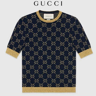 グッチ(Gucci)のGUCCI/グッチ☆GGパターンコットンルレックスニット(ニット/セーター)