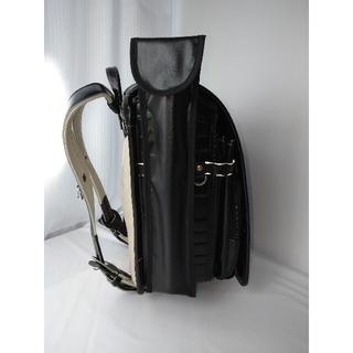 黒×黒シンプル☆リコーダーケース 耐水ラミネートマグネット仕上げハンドメイド(外出用品)