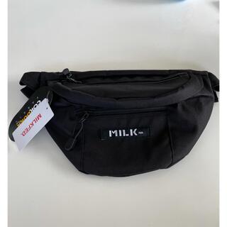 ミルクフェド(MILKFED.)の MILKFED.     MINI FANNY PACK   ブラック(ボディバッグ/ウエストポーチ)