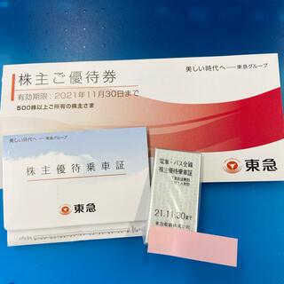 東急電鉄 株主優待(鉄道乗車券)