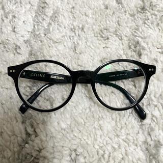 セリーヌ(celine)のCELINE セリーヌ 眼鏡 黒 アイウェア フィービー期(サングラス/メガネ)