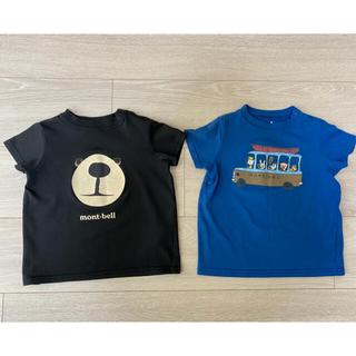 モンベル(mont bell)のモンベルTシャツ 2枚セット 80cm(Tシャツ)