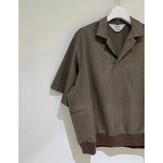 サンシー(SUNSEA)のSUNSEA 20ss snm4 polo サンシー size 3 (ポロシャツ)