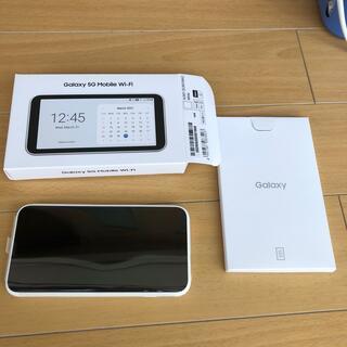 ギャラクシー(Galaxy)のGALAXY 5G Mobile Wi-Fi(PC周辺機器)