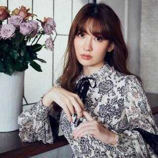 Herlipto Winter Floral Long Sleeve dress(ロングワンピース/マキシワンピース)