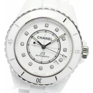 シャネル(CHANEL)の☆美品 シャネル J12 H5705 メンズ 【中古】(腕時計(アナログ))