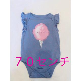 ベビーギャップ(babyGAP)のbabyGAP 70㌢ ロンパース(ロンパース)
