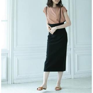 ノーブル(Noble)のNOBLE ショルダーストラップサロペットスカート(ひざ丈スカート)