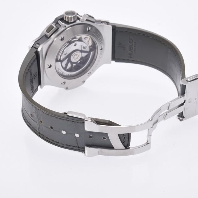 HUBLOT(ウブロ)のウブロ  ビックバン アールグレイ ベゼルダイヤ 腕時計 メンズの時計(腕時計(デジタル))の商品写真