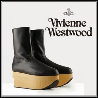 ヴィヴィアンウエストウッド(Vivienne Westwood)のロッキンホースブーツUK9メンズサイズ27cmヴィヴィアンウエストウッド(ブーツ)