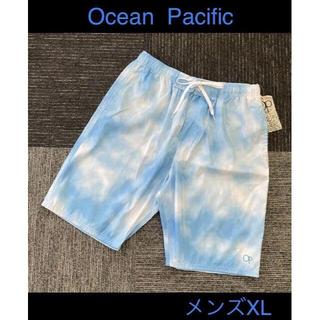 オーシャンパシフィック(OCEAN PACIFIC)の【新品】メンズXL/オーシャン パシフィック/サーフパンツ/水着/4389円の品(水着)