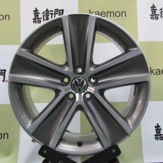 フォルクスワーゲン(Volkswagen)のフォルクスワーゲン 6R系 クロスポロ純正 4本セット(タイヤ・ホイールセット)