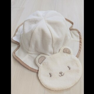 ベビーグース(BabyGoose)のベビーグース UV98%カット リバーシブル帽子(帽子)