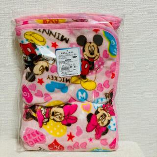 ディズニー(Disney)の★ディズニー ミッキー&ミニー  フランネルひざ掛け★ (毛布)