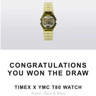 """タイメックス(TIMEX)のTIMEX × YMC T80 WATCH """"25TH ANNIVERSARY""""(腕時計(デジタル))"""