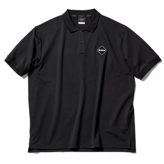 エフシーアールビー(F.C.R.B.)のL 新品 送料無料 FCRB 21SS EMBLEM POLO BLACK(ポロシャツ)