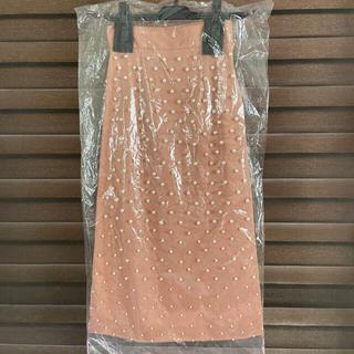 エイミーイストワール(eimy istoire)のeimy  グラデーションパールスカート(ひざ丈スカート)