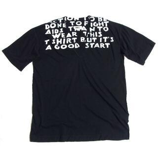 マルタンマルジェラ(Maison Martin Margiela)の19SS MM6 メゾン マルジェラ オーバーサイズ ビッグ エイズ Tシャツ(Tシャツ(半袖/袖なし))