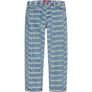 Supreme - Supreme Frayed Logos Regular Jean 30