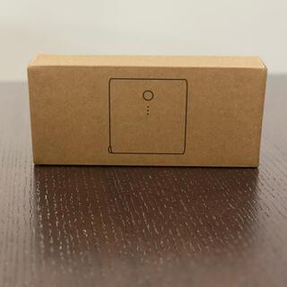ムジルシリョウヒン(MUJI (無印良品))の USB用 モバイルバッテリー急速充電器付 (バッテリー/充電器)