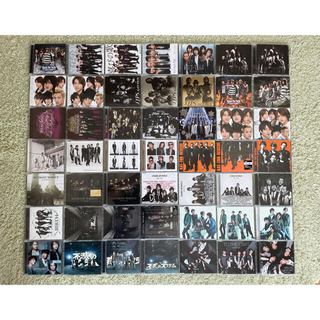 カトゥーン(KAT-TUN)の[94枚] KAT-TUN 全アルバム/シングル CD+DVD セット  (ポップス/ロック(邦楽))
