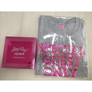 ヘイセイジャンプ(Hey! Say! JUMP)の平成ジャンプ HeySayJUMP Tシャツと非売品パスケース 定期入れ(アイドルグッズ)