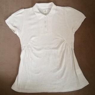 サマンサモスモス(SM2)のenracine ポロシャツ M リネン混 ワッフル布地 アンラシーネ(その他)