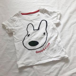 ユニクロ リサとガスパール Tシャツ 80cm