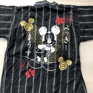 ディズニー(Disney)のミッキーマウス 甚平 130 ディズニー(甚平/浴衣)