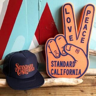 スタンダードカリフォルニア(STANDARD CALIFORNIA)のスタンダードカリフォルニア グリーンルーム限定 キャップ ピースサインセット(キャップ)