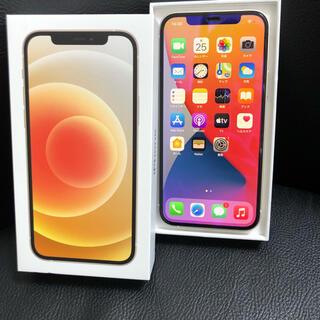 アイフォーン(iPhone)のSIMロック解除iPhone 12 64GB ホワイト   SIMフリー  (スマートフォン本体)