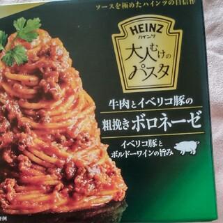 コストコ(コストコ)のハインツ 粗挽きボロネーゼ(レトルト食品)
