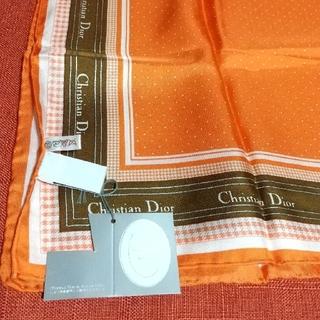 クリスチャンディオール(Christian Dior)のディオール、シルクスカーフ(バンダナ/スカーフ)