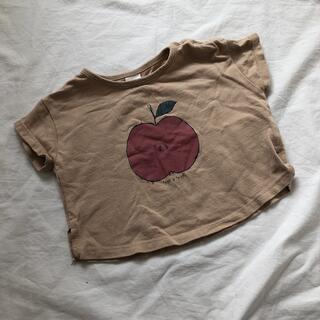 フタフタ(futafuta)のバースデイ テータテート りんご Tシャツ 70cm(Tシャツ)