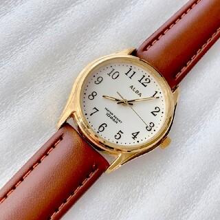 アルバ(ALBA)のALBA メンズクォーツ腕時計 蓄光あり 稼動品 ベルト未使用(腕時計(アナログ))