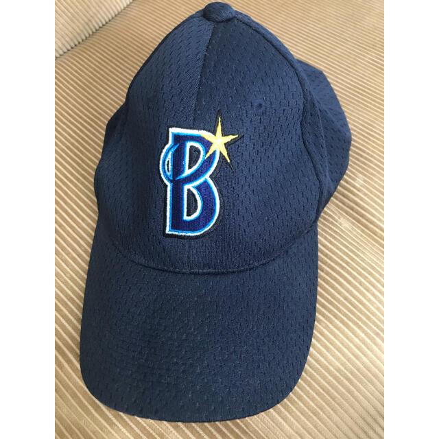 横浜DeNAベイスターズ(ヨコハマディーエヌエーベイスターズ)のベイスターズキャップ スポーツ/アウトドアの野球(応援グッズ)の商品写真