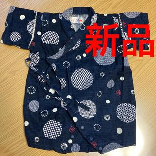 ただ今タイムセール中 新品 ベビー服 甚平 ロンパース 80サイズ (甚平/浴衣)