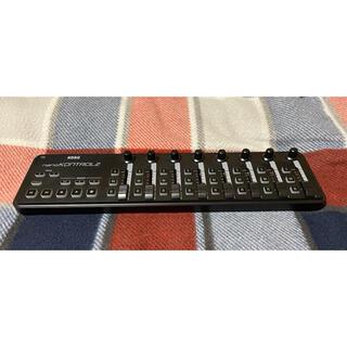 コルグ(KORG)のKORG nanoKONTROL2 BK 美品です。(中古)●PADセット品(MIDIコントローラー)