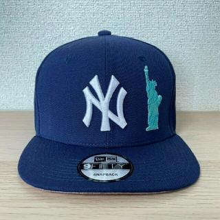 ニューエラー(NEW ERA)の【Supremeモデル着用】NEWERA NY Yankees Cap(キャップ)