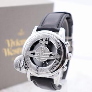 ヴィヴィアンウエストウッド(Vivienne Westwood)の正規品【新品電池】VivienneWestwood/ビッグオーブ 動作品 クロノ(腕時計(アナログ))